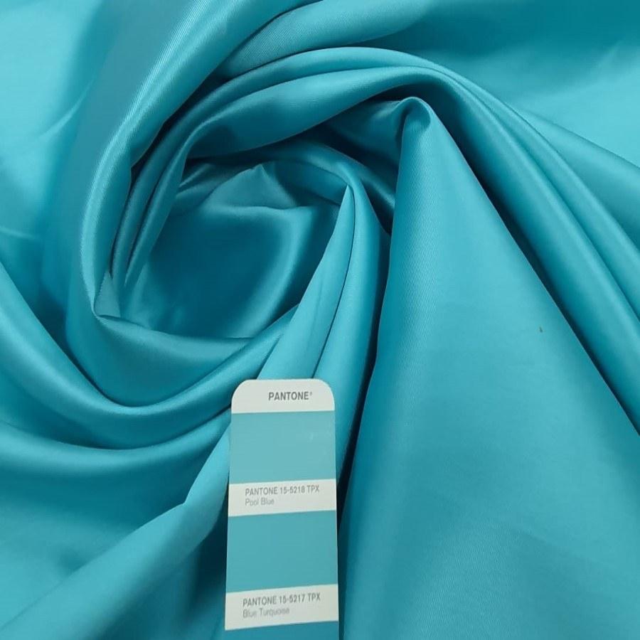 Tecido Zibeline Lisa Azul Piscina