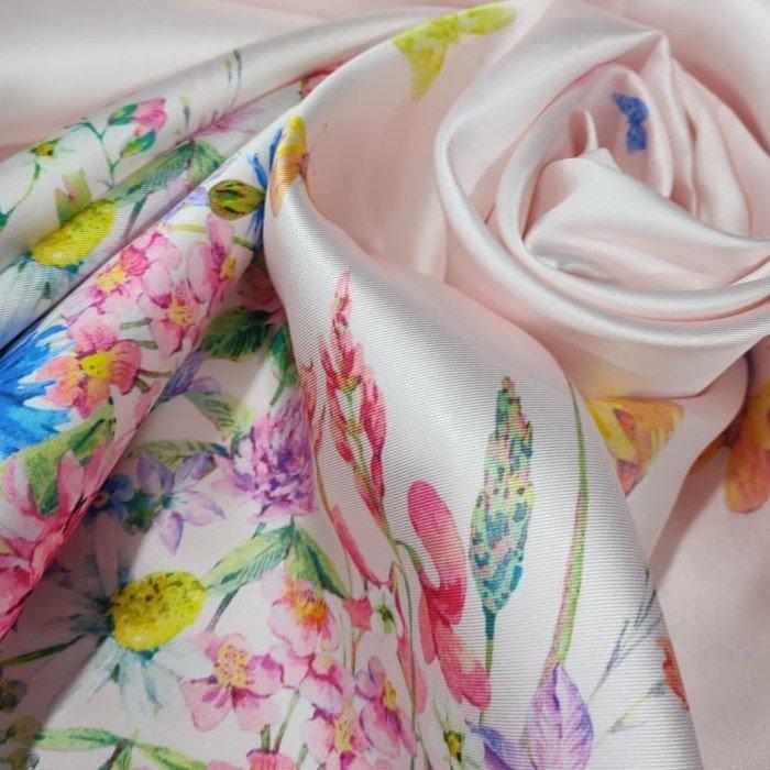 Tecido Zibeline Monarca Estampa Coleção Sonhos E Encantos Floral