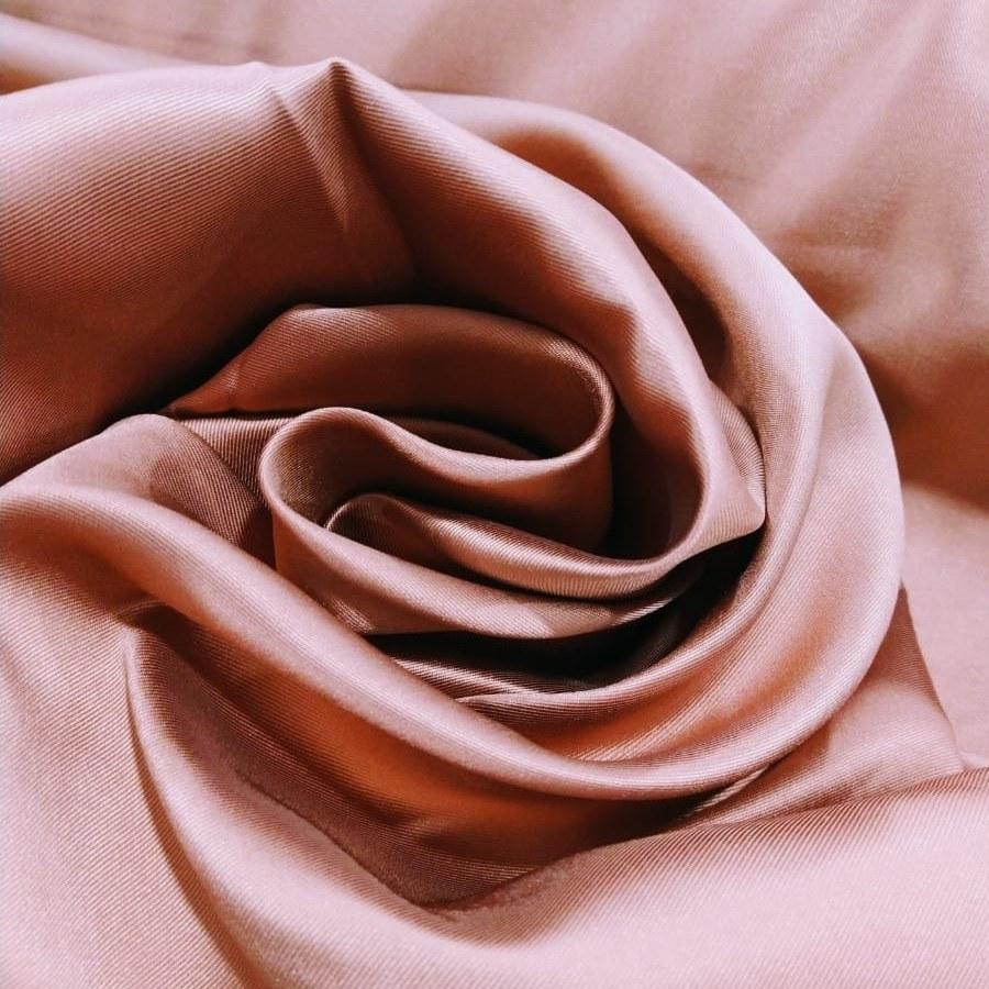 Tecido Zibeline Monarca Liso Cor Rosa Canela