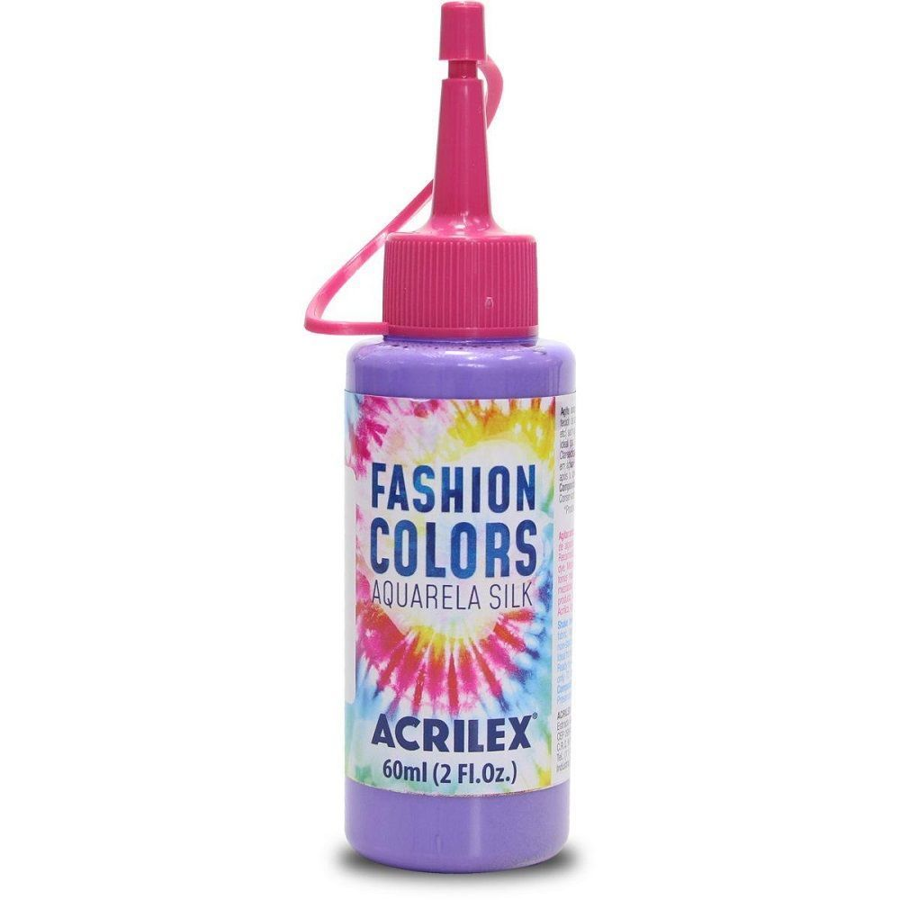 Tinta Aquarela Para Tecido Silk Fashion Colors 60ml - Lilás