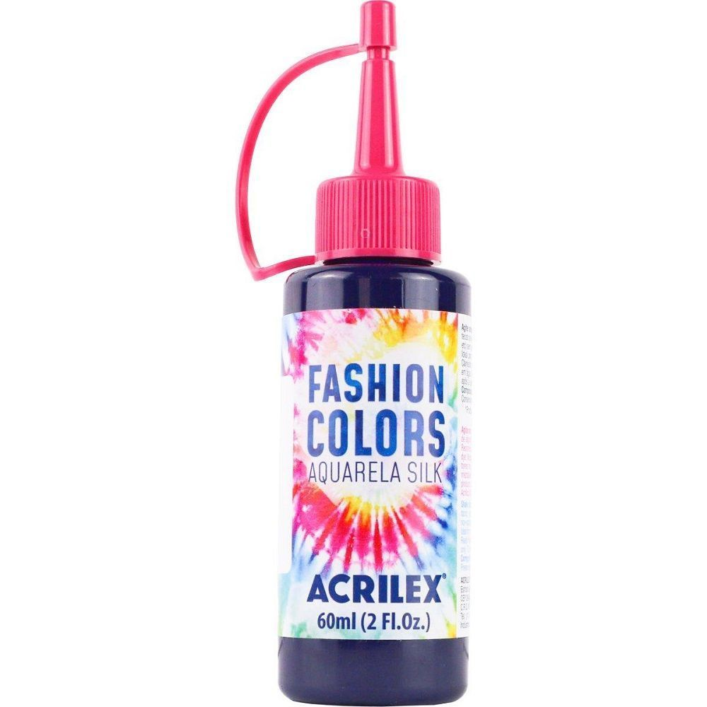 Tinta Aquarela Para Tecido Silk Fashion Colors 60ml - Violeta