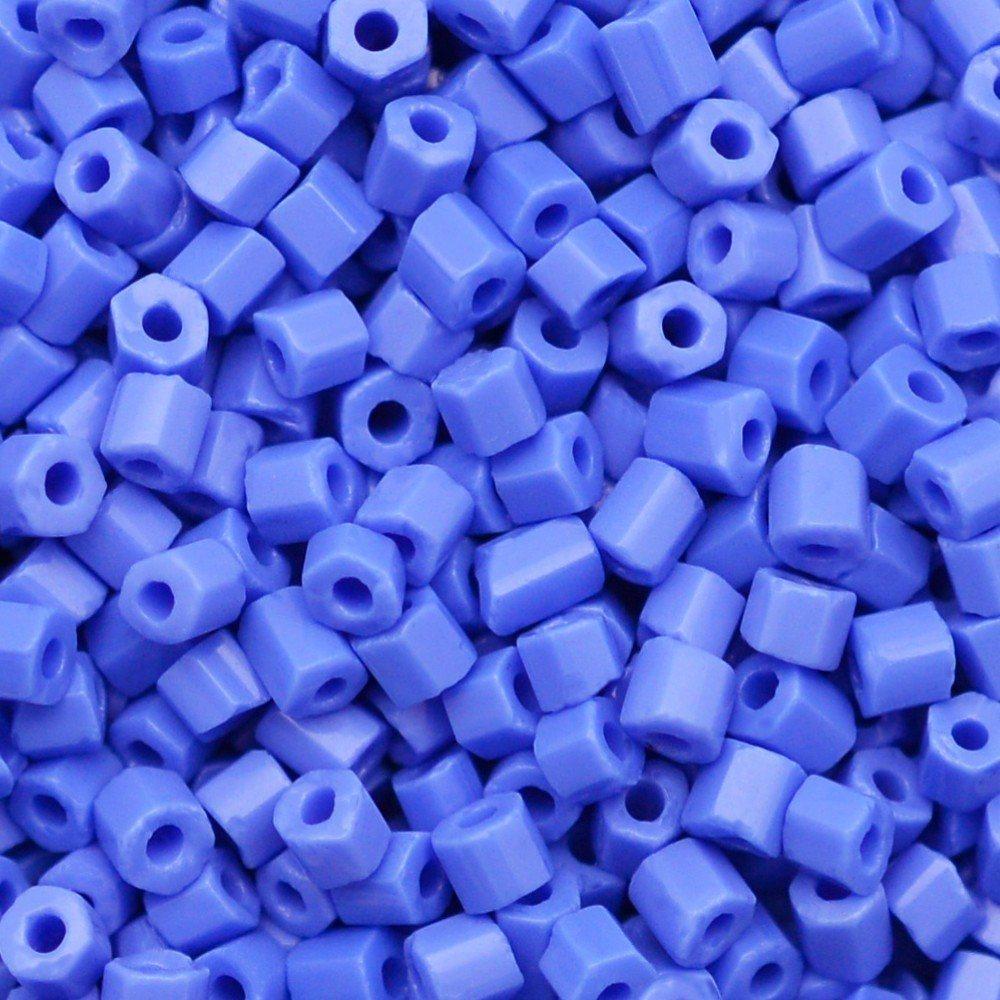 Vidrilho Preciosa® Ornela Azul Fosco (33040) 2x9/0=2,6mm 100 gr