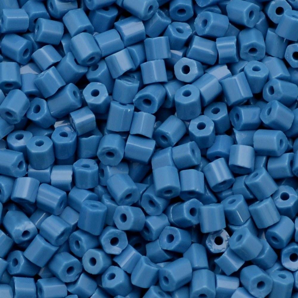 Vidrilho Preciosa® Ornela Azul Fosco (33220) 2x9/0=2,6mm 100 gr