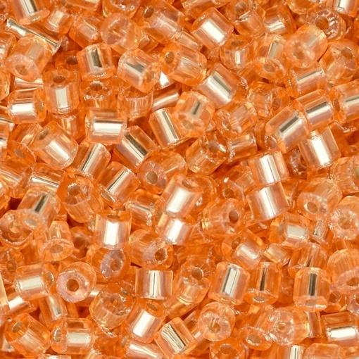 Vidrilho Preciosa® Ornela Nude Salmão Transparente (08289) 2x9/0=2,6mm 100 gr