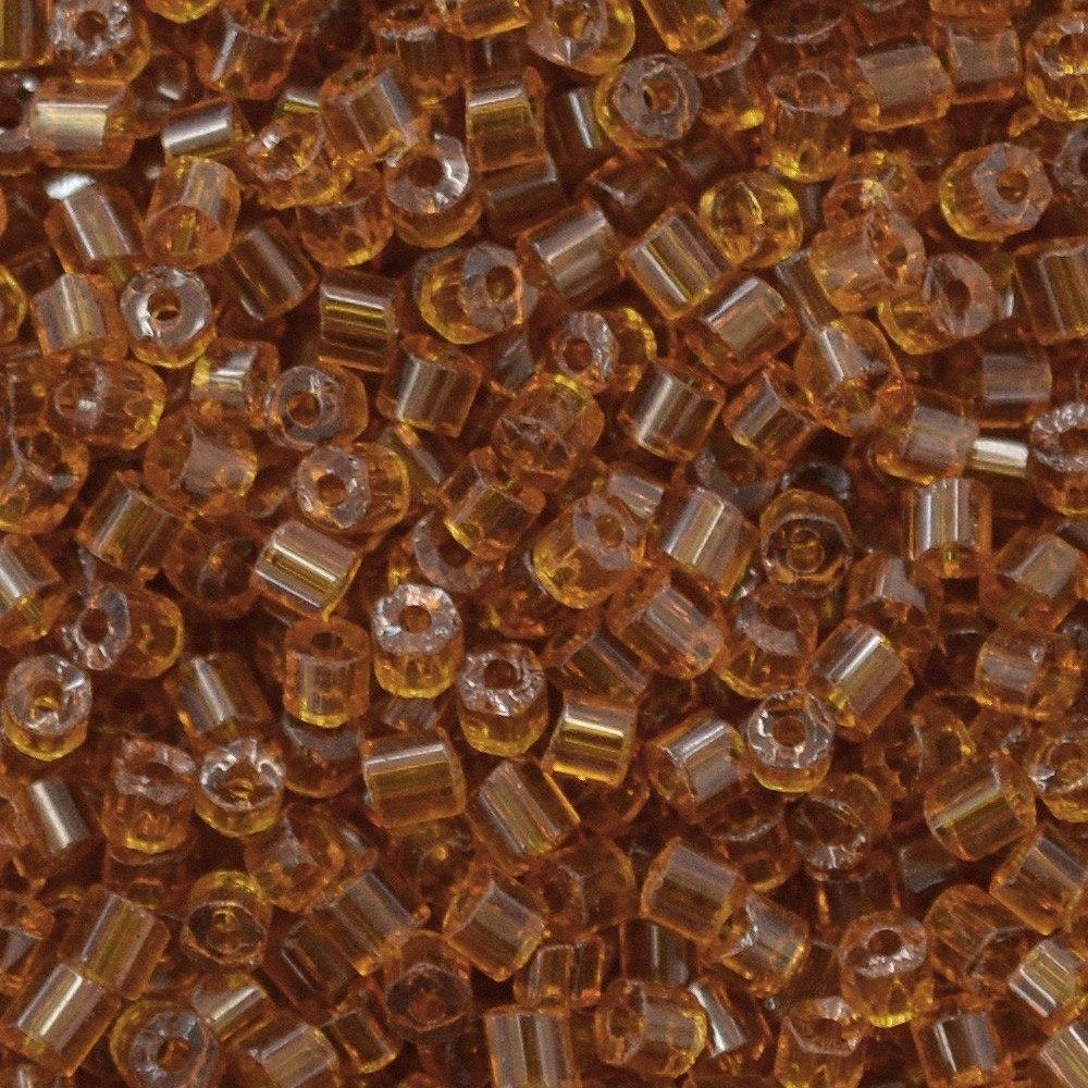 Vidrilho Preciosa® Ornela Topaz Transparente T (10090) 2x9/0=2,6mm 100 gr