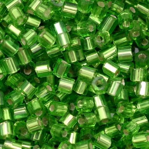 Vidrilho Preciosa® Ornela Verde Transparente (57430) 2x9/0=2,6mm 100 gr
