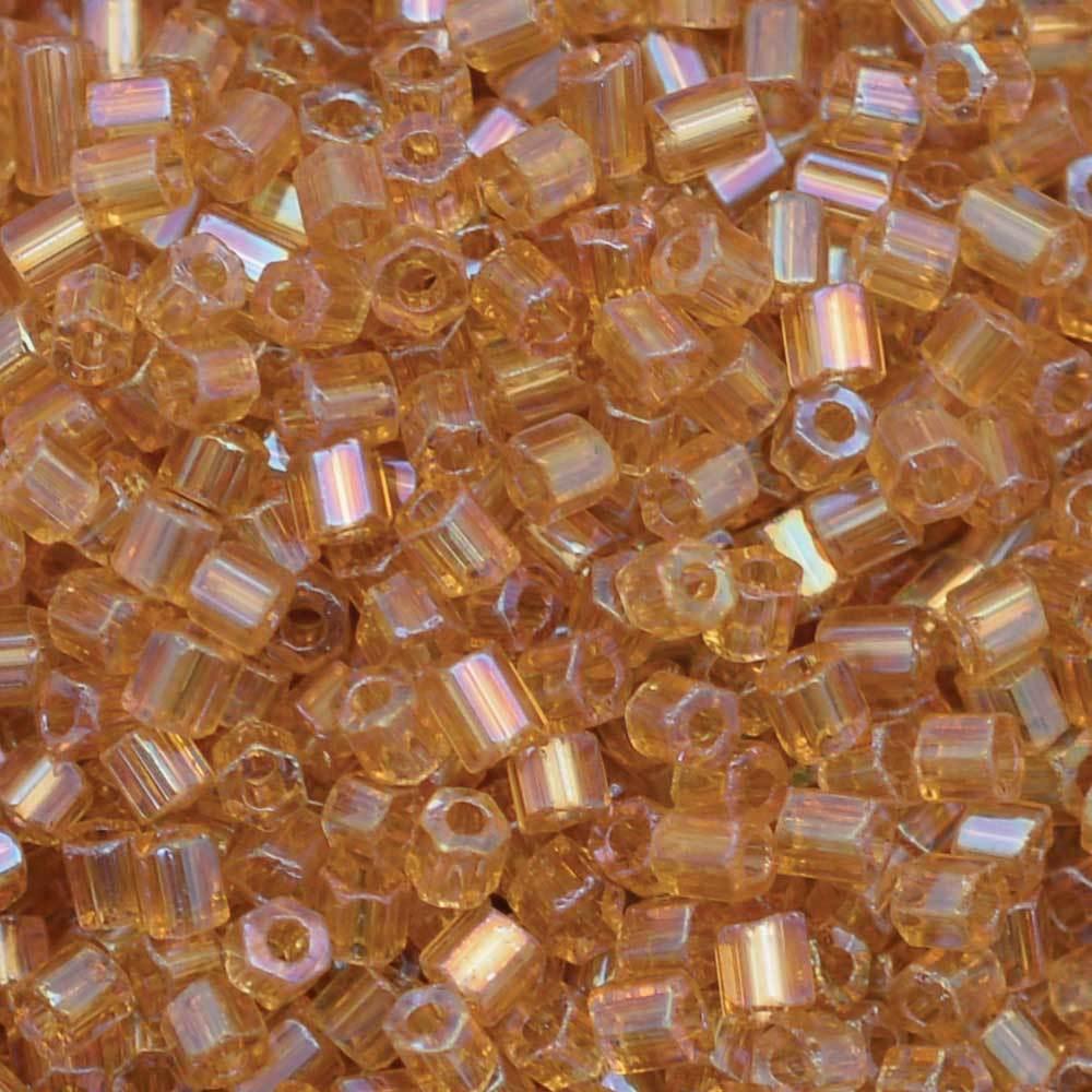Vidrilhos Jablonex Topaz Transparente T Aurora Boreal 11050 2x9/0=2,6mm