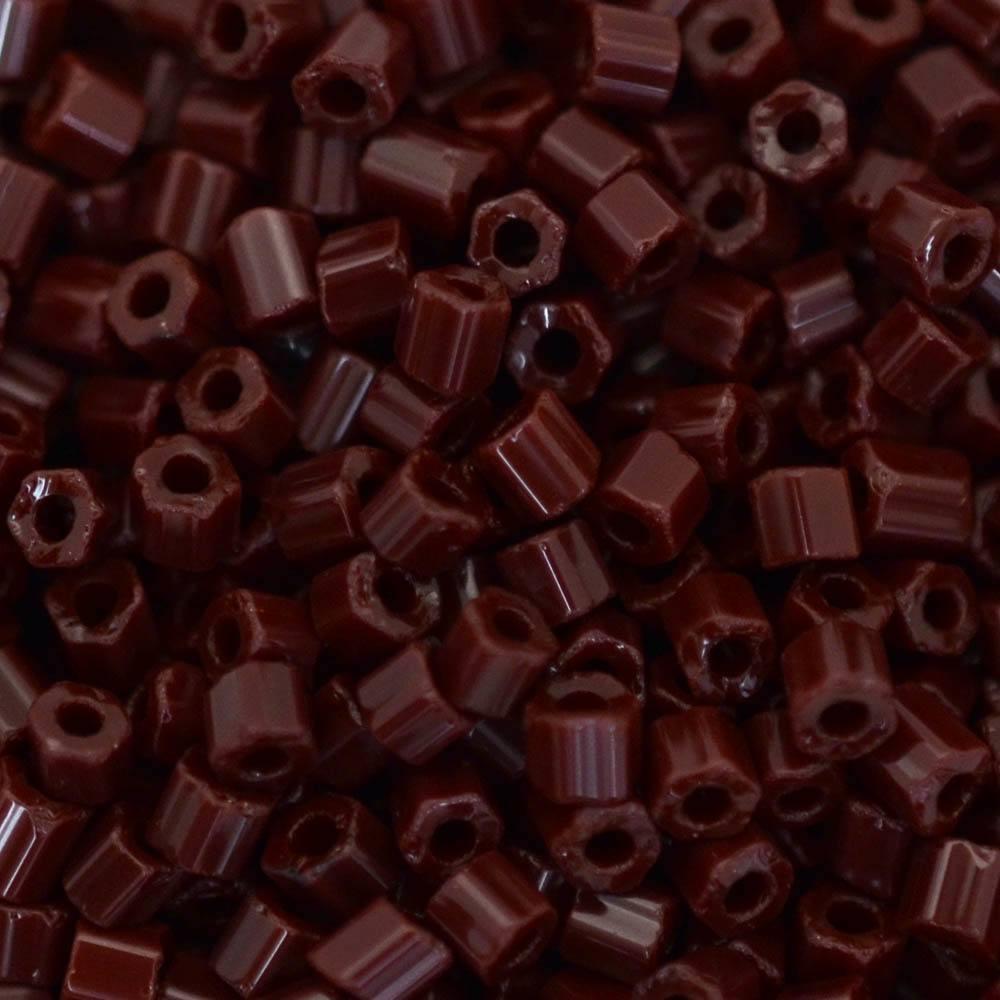 Vidrilhos Jablonex Vinho Escuro Fosco 93310 2x9/0=2,6mm