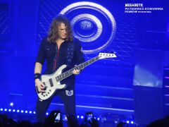 DAVID ELLEFSON - MEGADETH EN VIVO - CORREAS LA MANTA - ESTADIO LUNA PARK