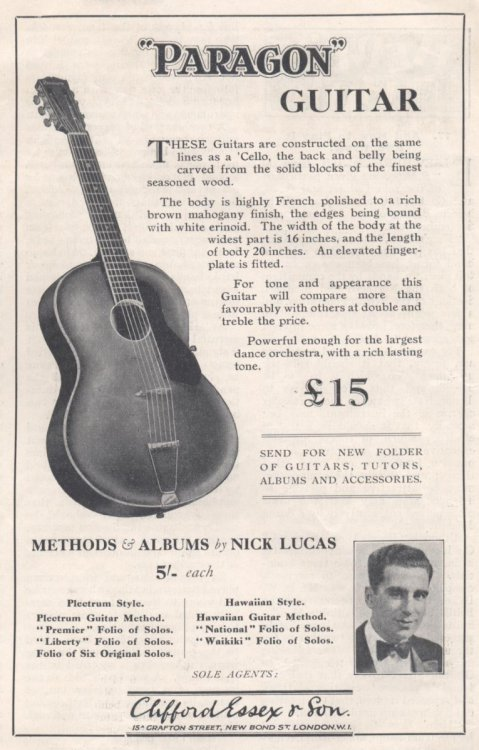 Paragon Guitar Advertisment - BMG May 1931.JPG