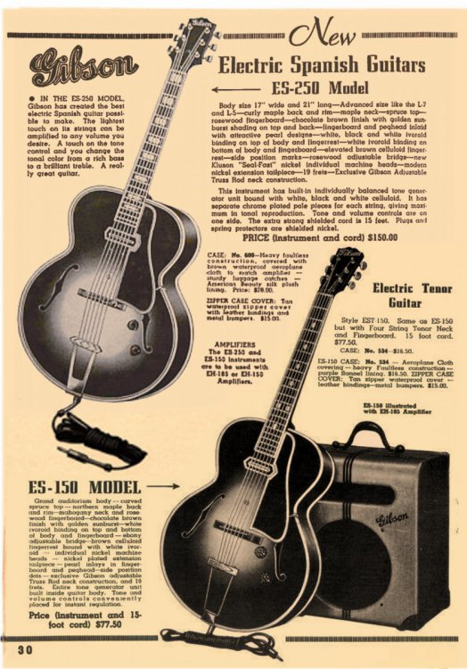Gibson_ES-250,_ES-150_with_EH-185_amp_-_magazine_advertisement_in_1939-1940.jpg
