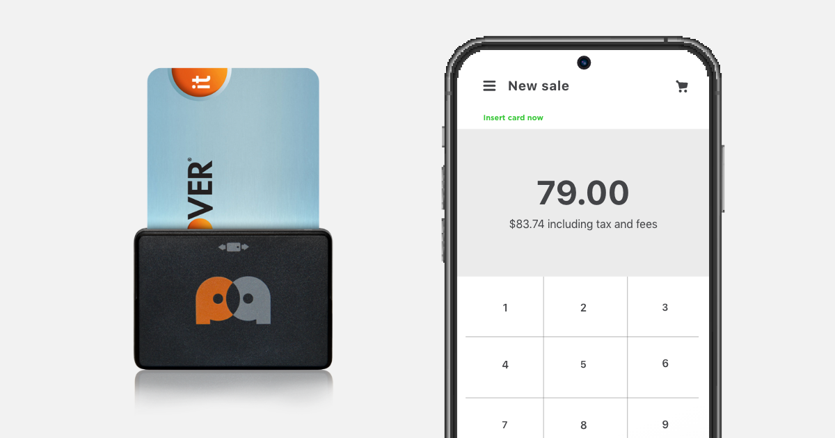 How to transform your smartphone into a credit card reader.
