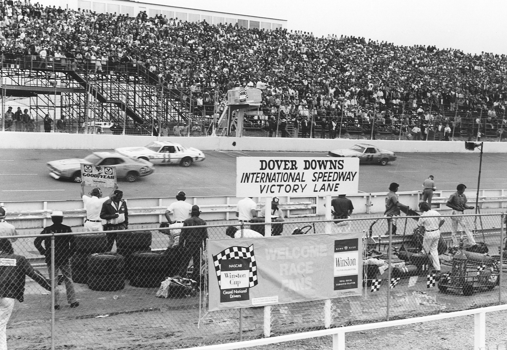 Richard Petty Won First At Dover