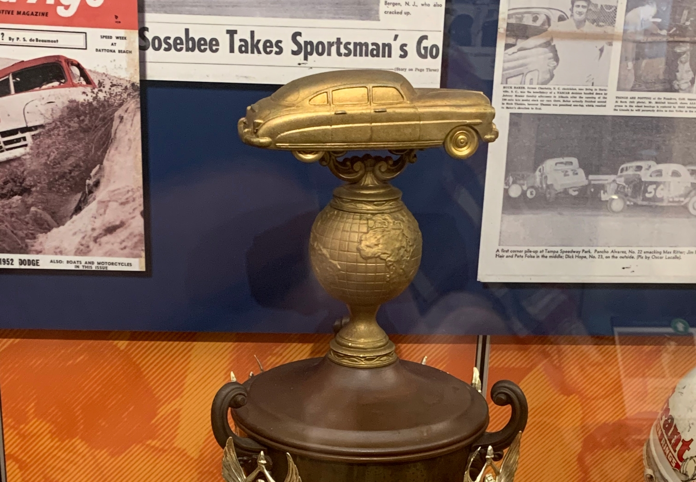 Artifact: Bill Blair's Daytona Beach Triumph