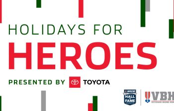<p>Holidays for Heroes:<br /><strong>Presented by Toyota</strong></p>