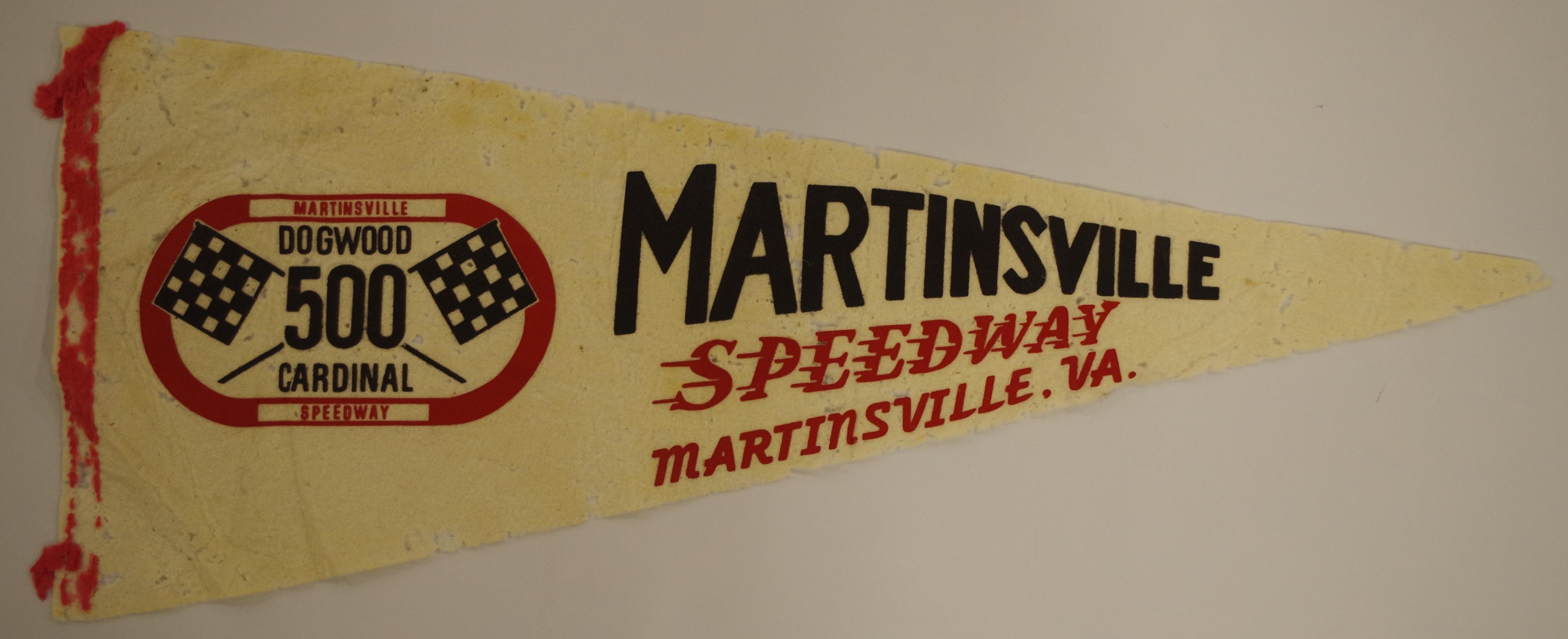 Artifact: Martinsville Speedway Pennant