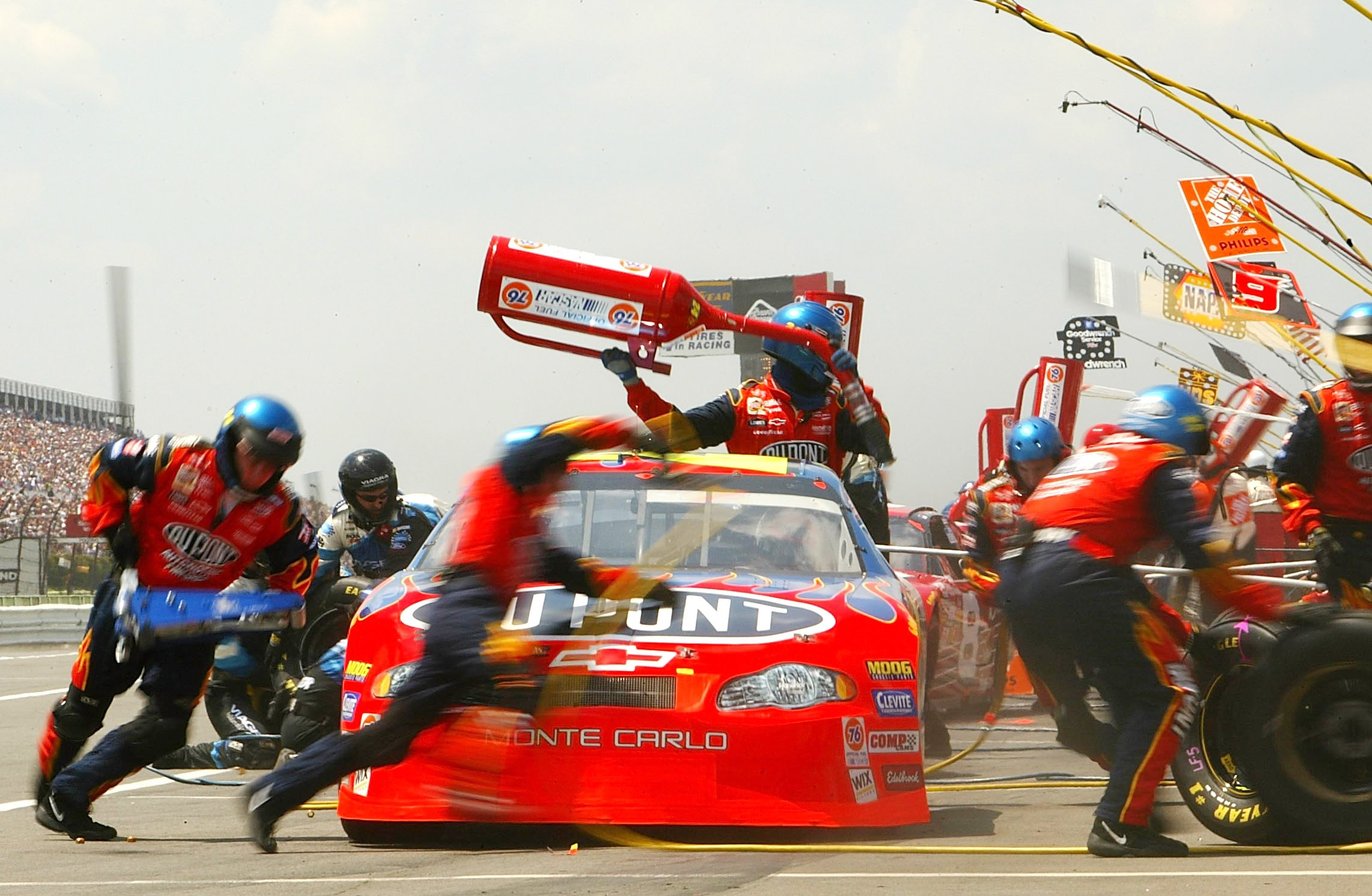 Pocono a Playground for Hall of Famers
