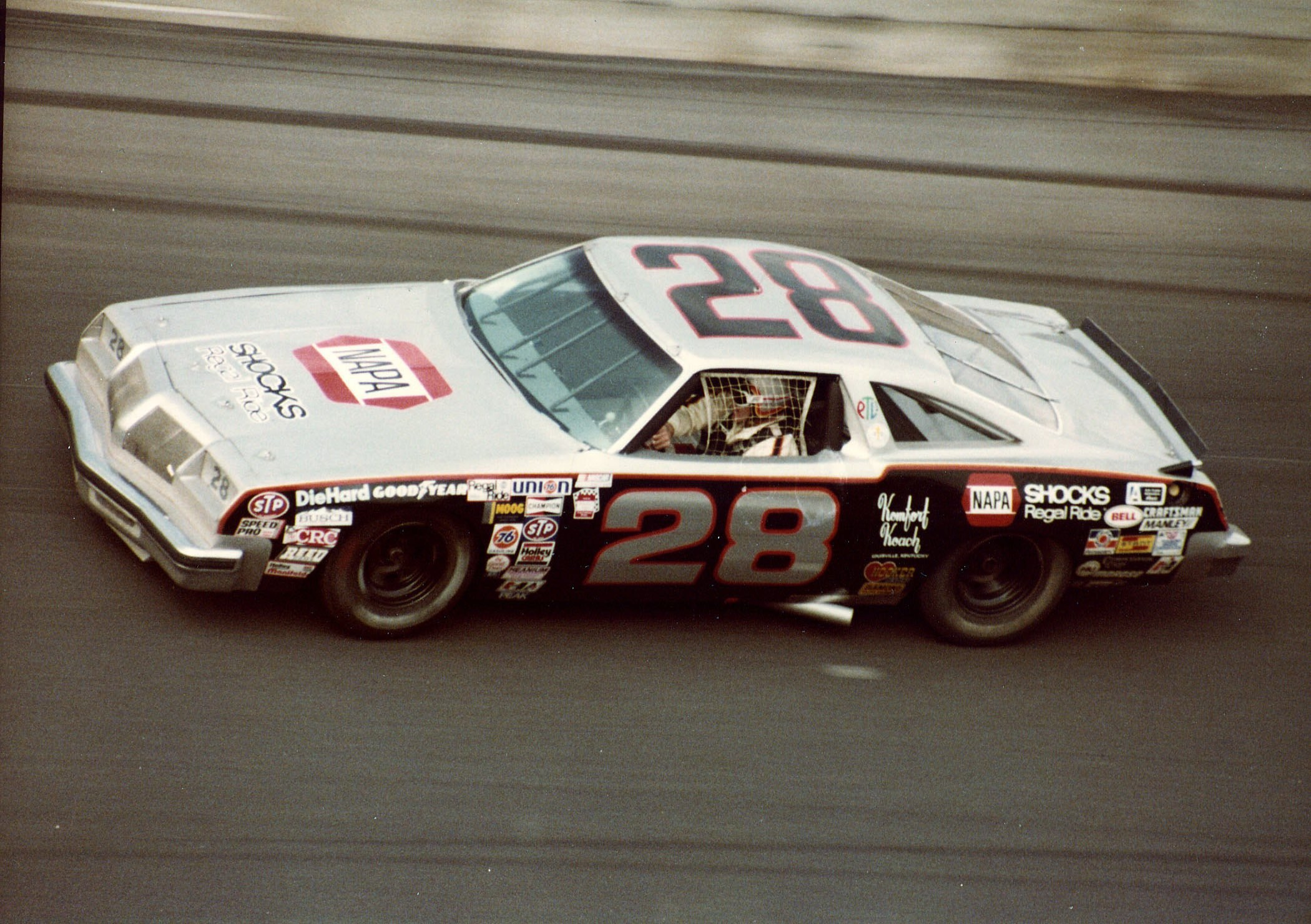 Buddy Baker's Gray Ghost Has Colorful History