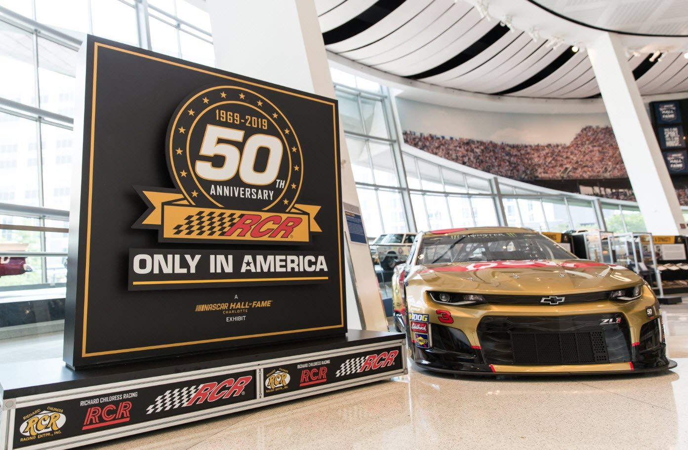 2nd Saturday - RCR 50: Only in America | Nascar Hall of Fame