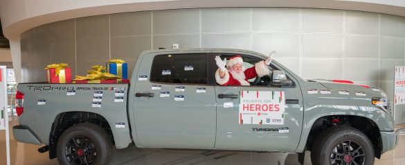 Holidays for Heroes: Presented by Toyota