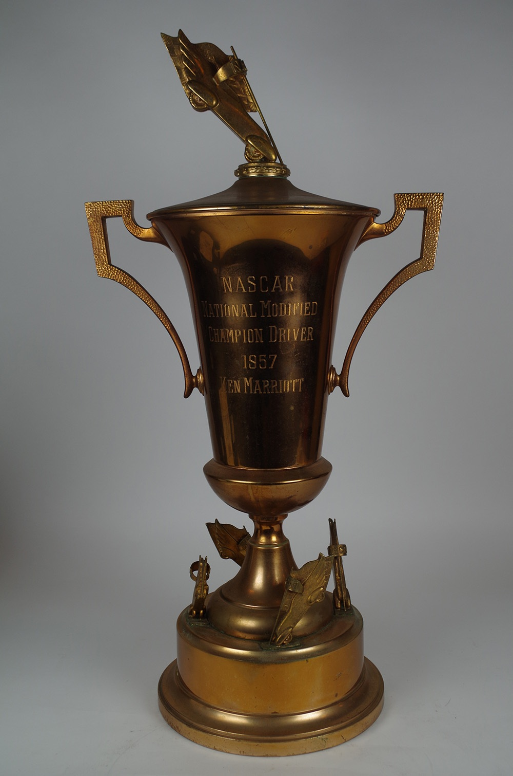 Artifact: 1957 Modified Division Championship Trophy