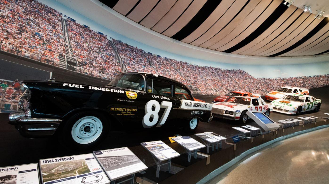 The Black Widow Rocked NASCAR