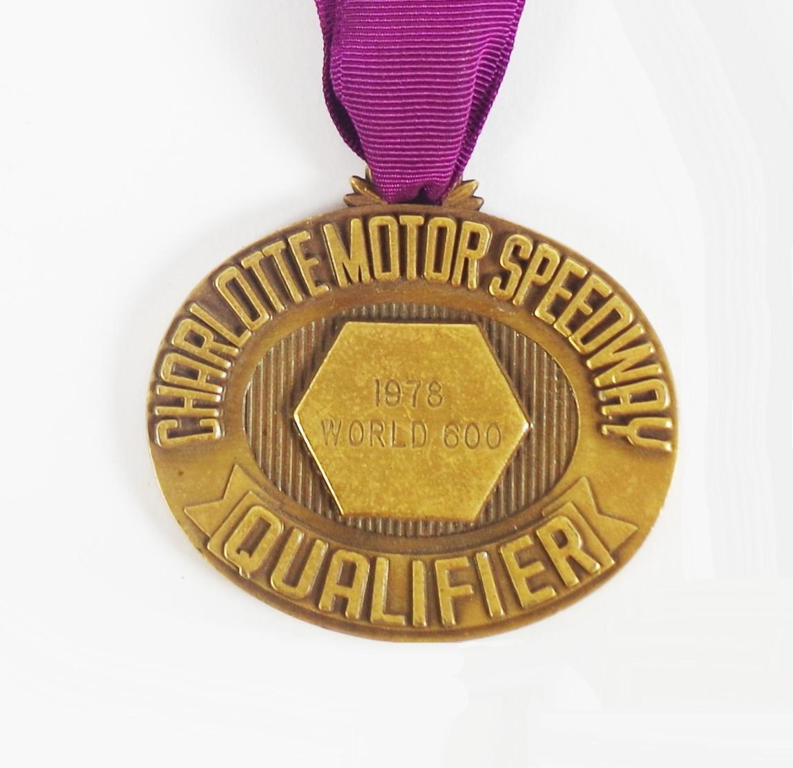 Artifact: Dale Earnhardt's 1978 Medal