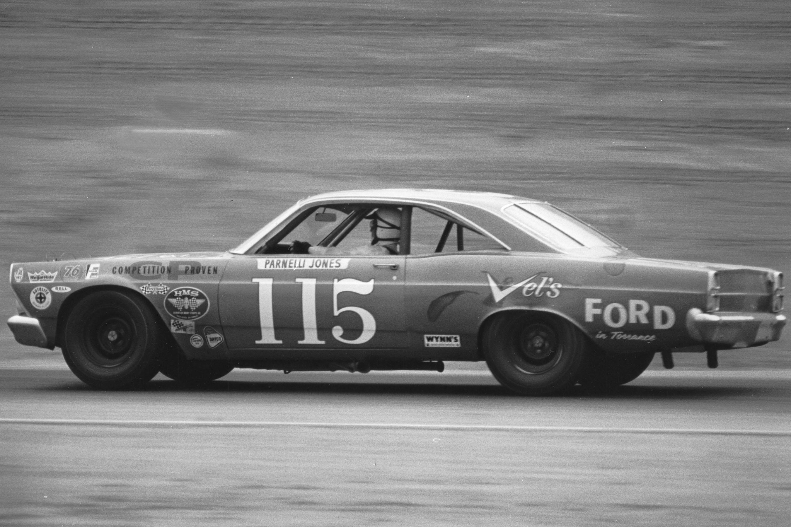 On January 22, 1967, Parnelli Jones won the Motor Trend 500