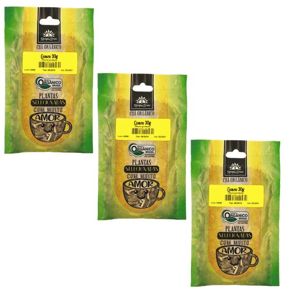 Guaco Orgânico Chá 100% Folhas 3 und 30g cada Kampo de Ervas