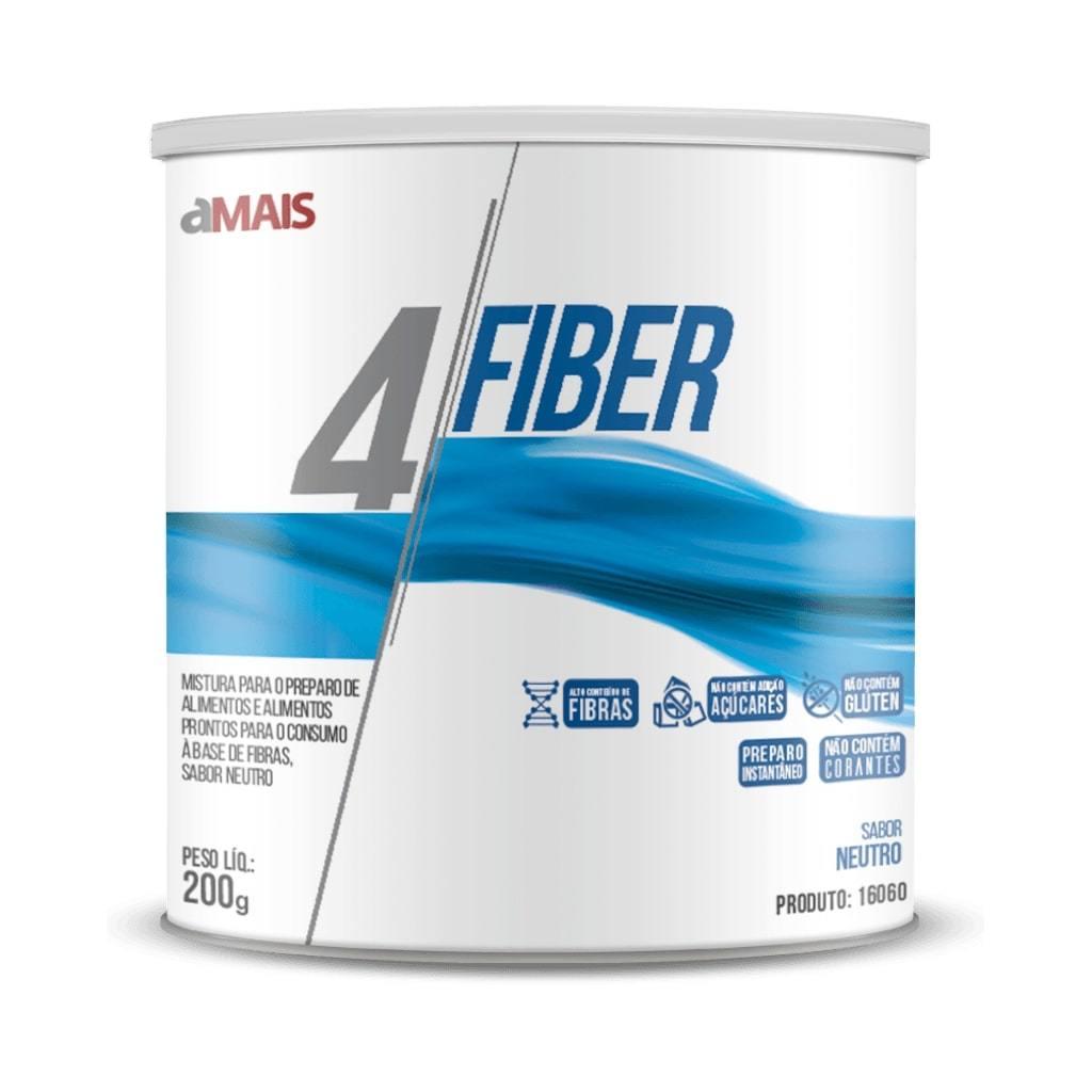 4 Fiber Solúvel 200g Sabor Neutro