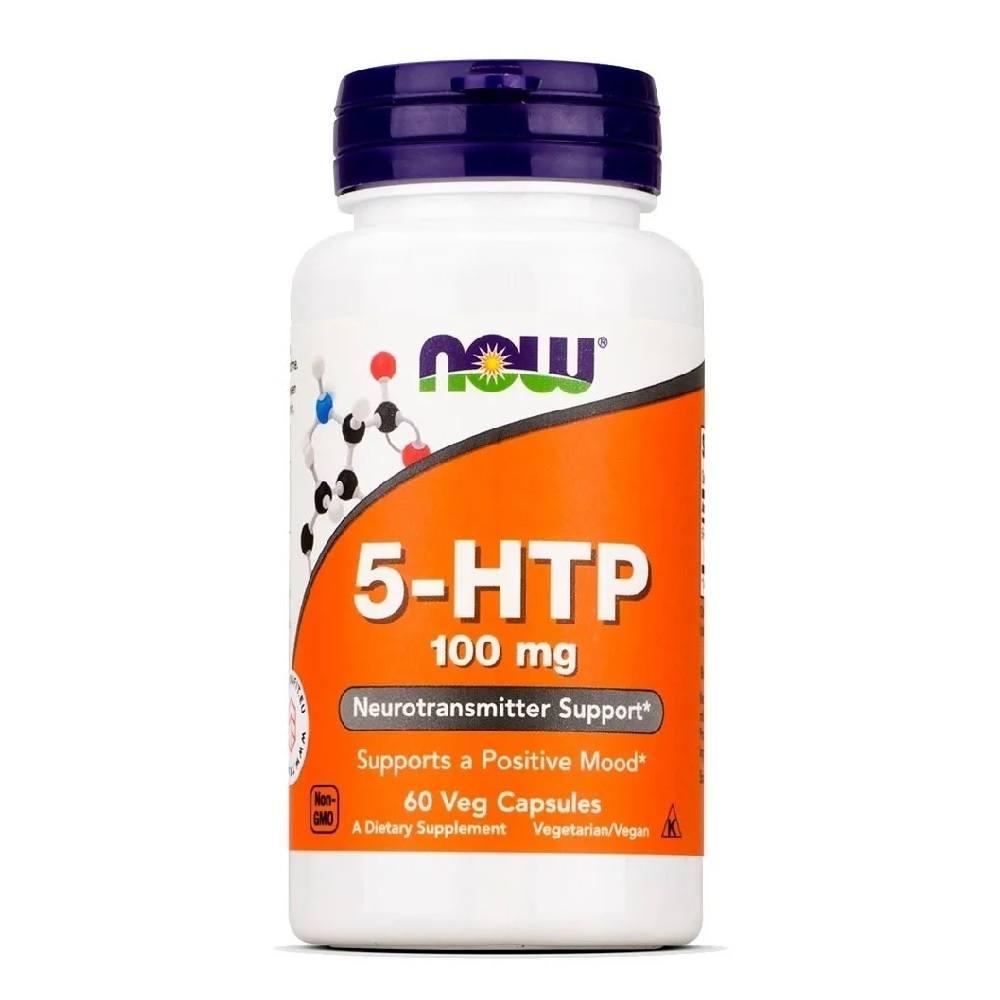 5-HTP 100 mg 60 Caps. Now Foods