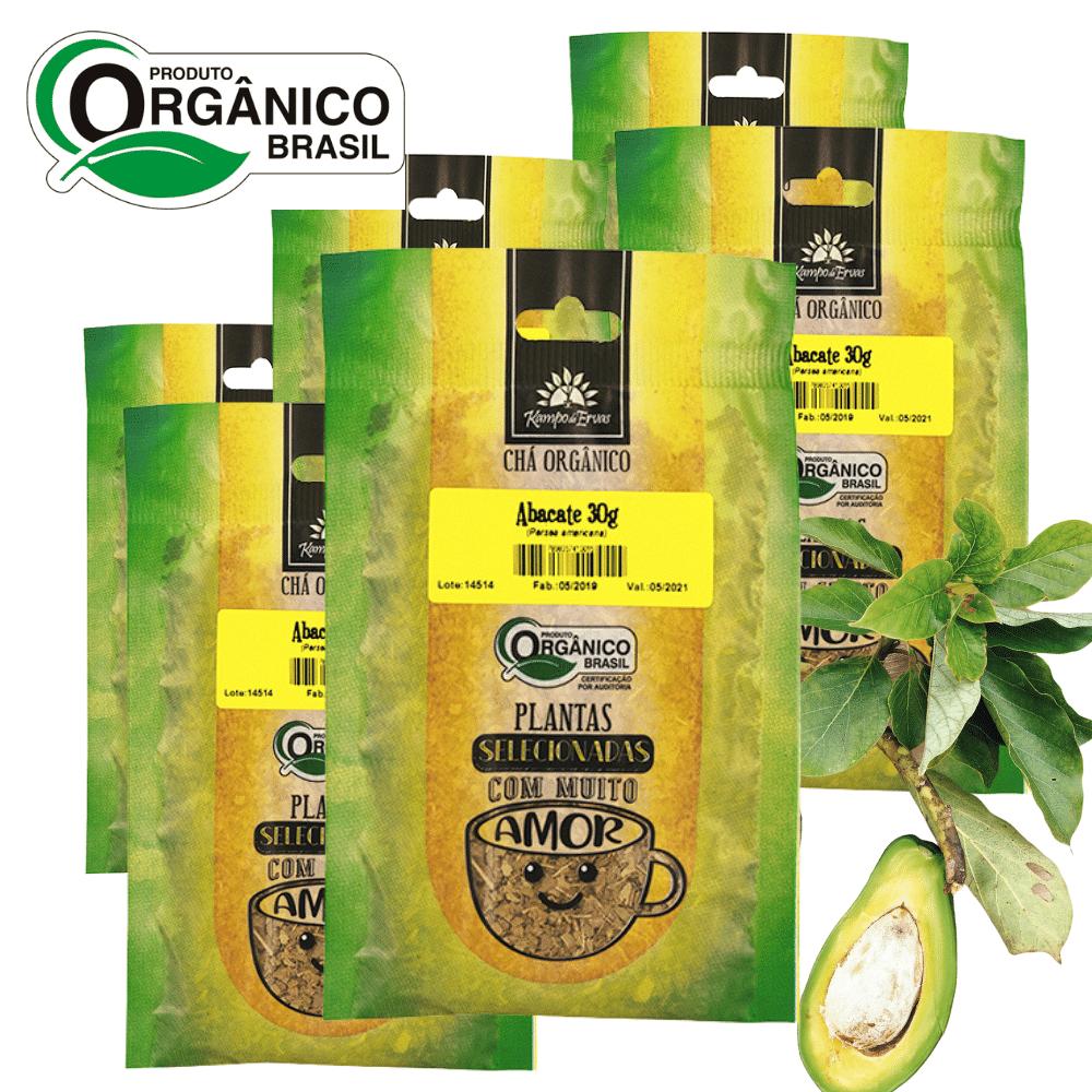 Abacate Chá Orgânico Certif PURO 100% Folhas 6 und 30g cada