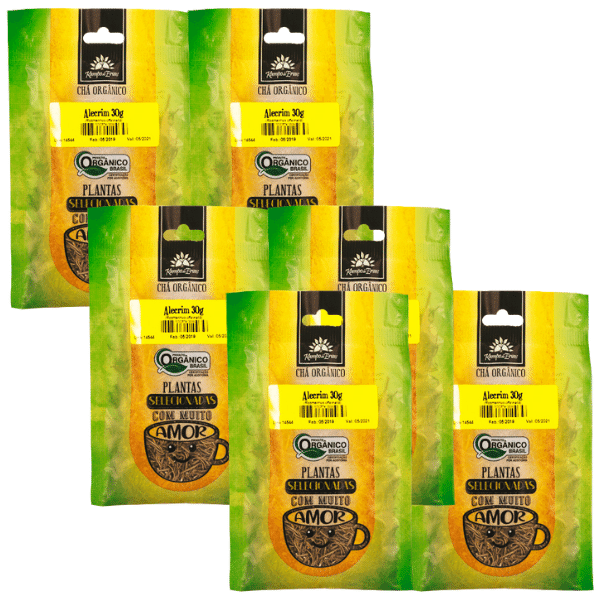 Alecrim Orgânico 100 % Folhas 6 und 30g cada Kampo de Ervas