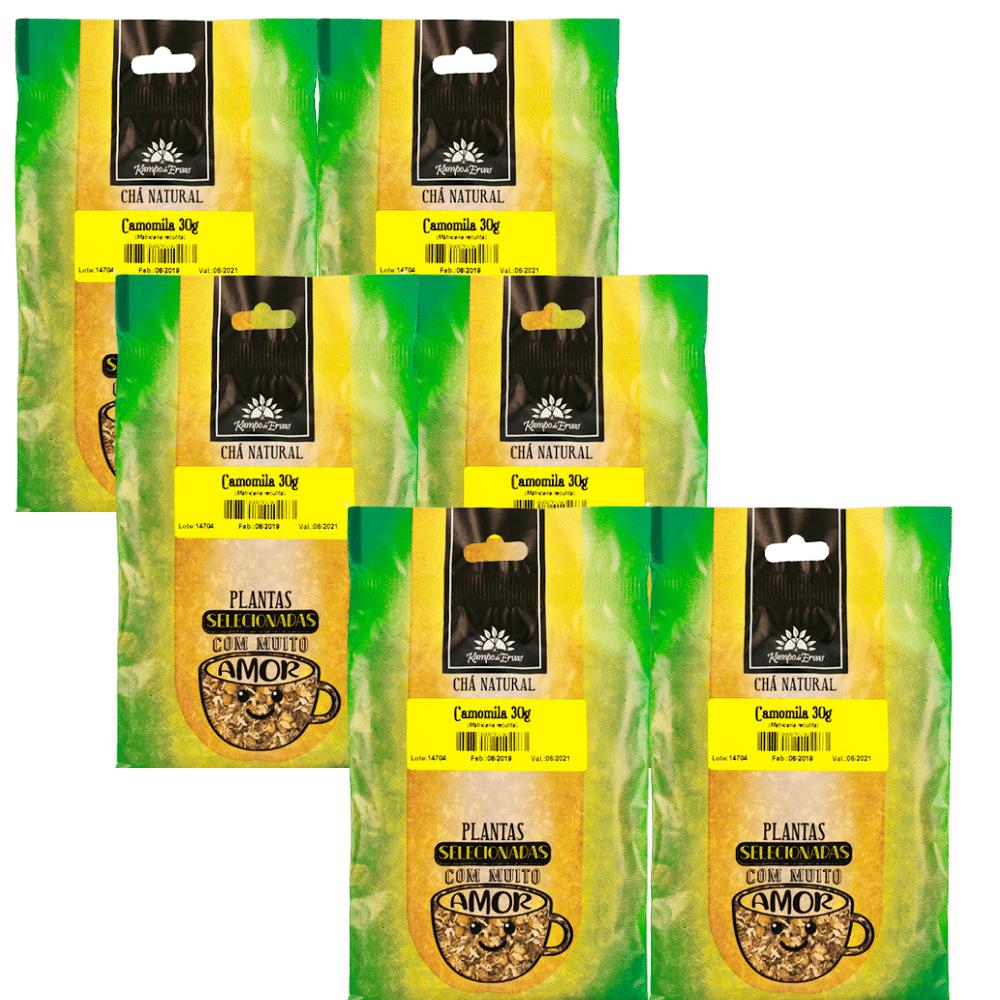 6 Chás de Camomila PURA 30 g