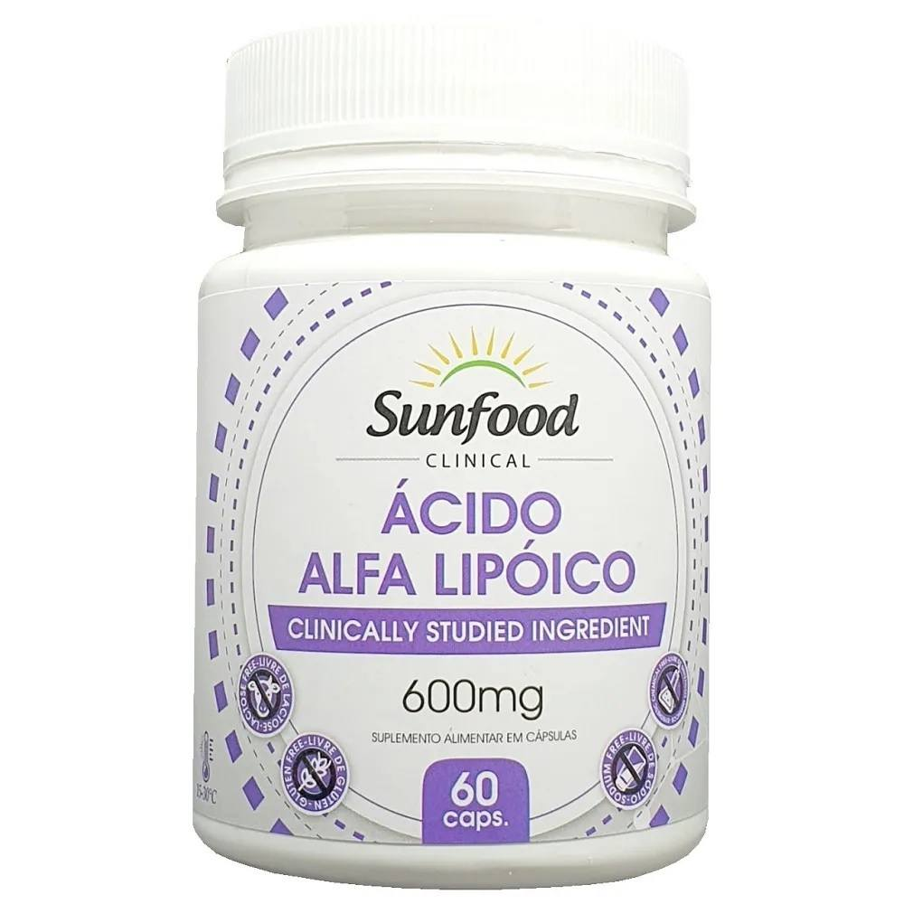 Ácido Alfa Lipóico 600 mg 60 Cáps Sunfood