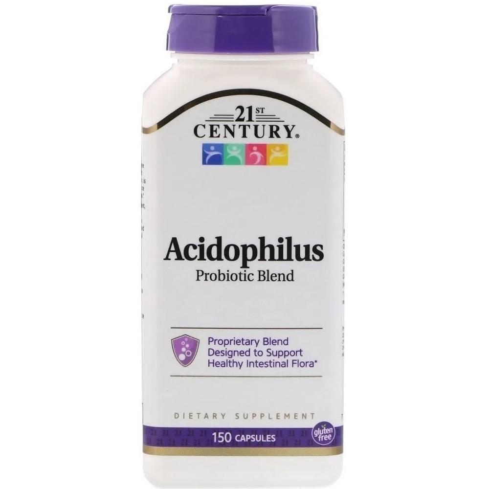 Acidophilus Probiotic Blend 150 Cáps. 21ST Century