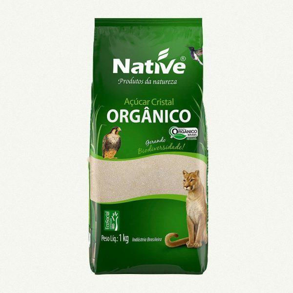 Açucar Cristal Orgânico – Native – 1kg