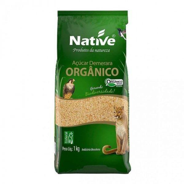 Açúcar Demerara Orgânico – Native – 1kg