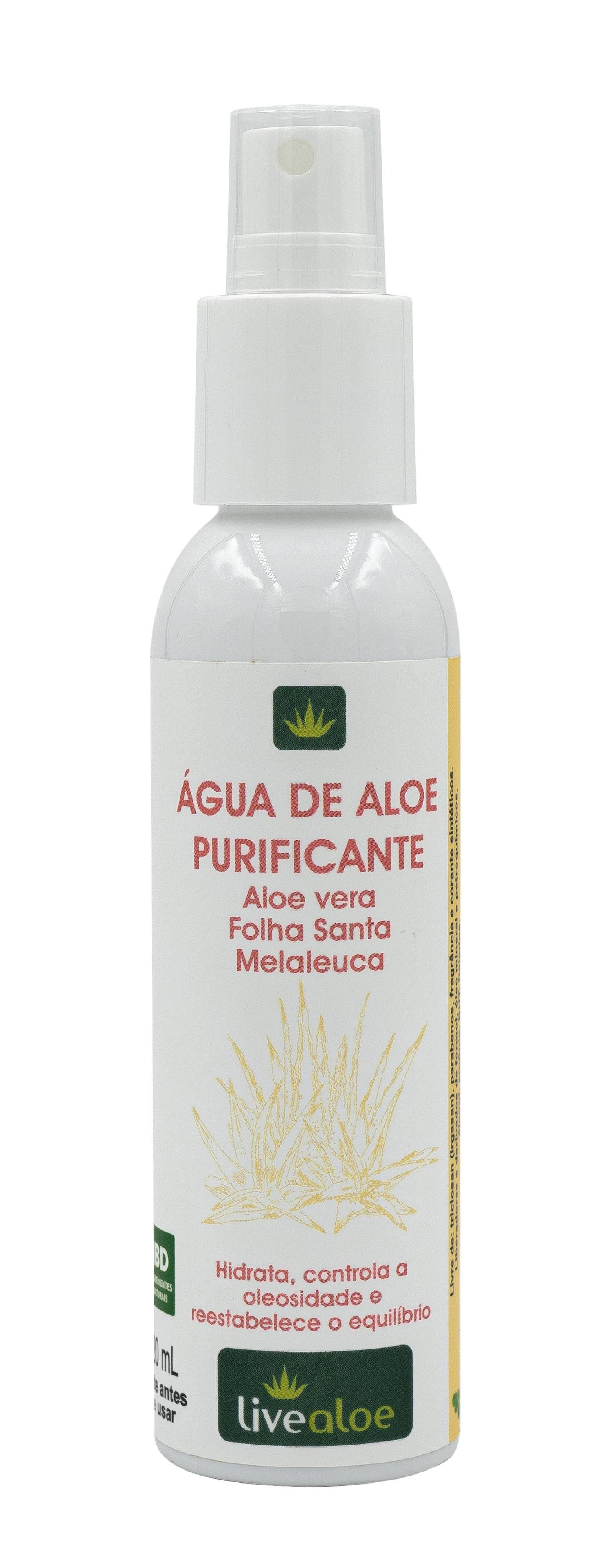 Água Purificante de Aloe