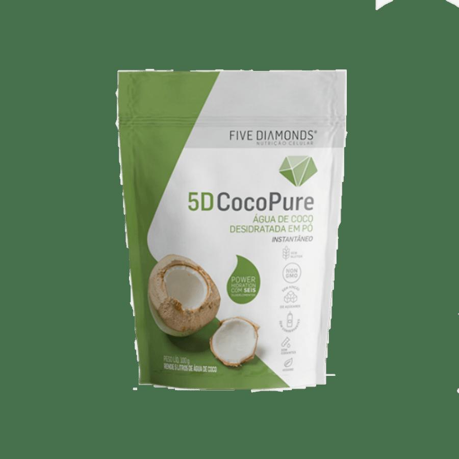 Água De Coco Desidratada Em Pó 200g - Five Diamonds