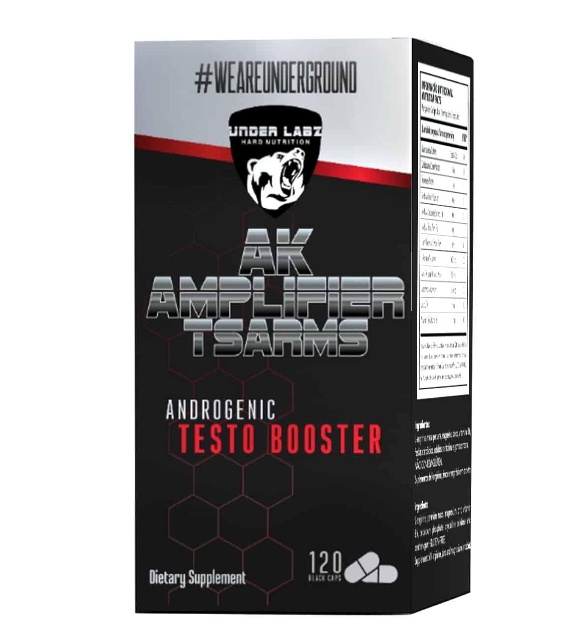 Ak Amplifier T-Sarms 120 Tablets Under Labz