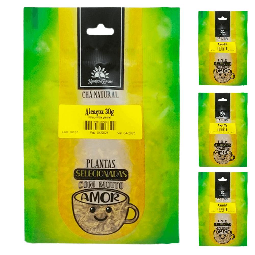 Alcaçuz Importado Chá da Raiz Kampo de Ervas 3 und  30g cada