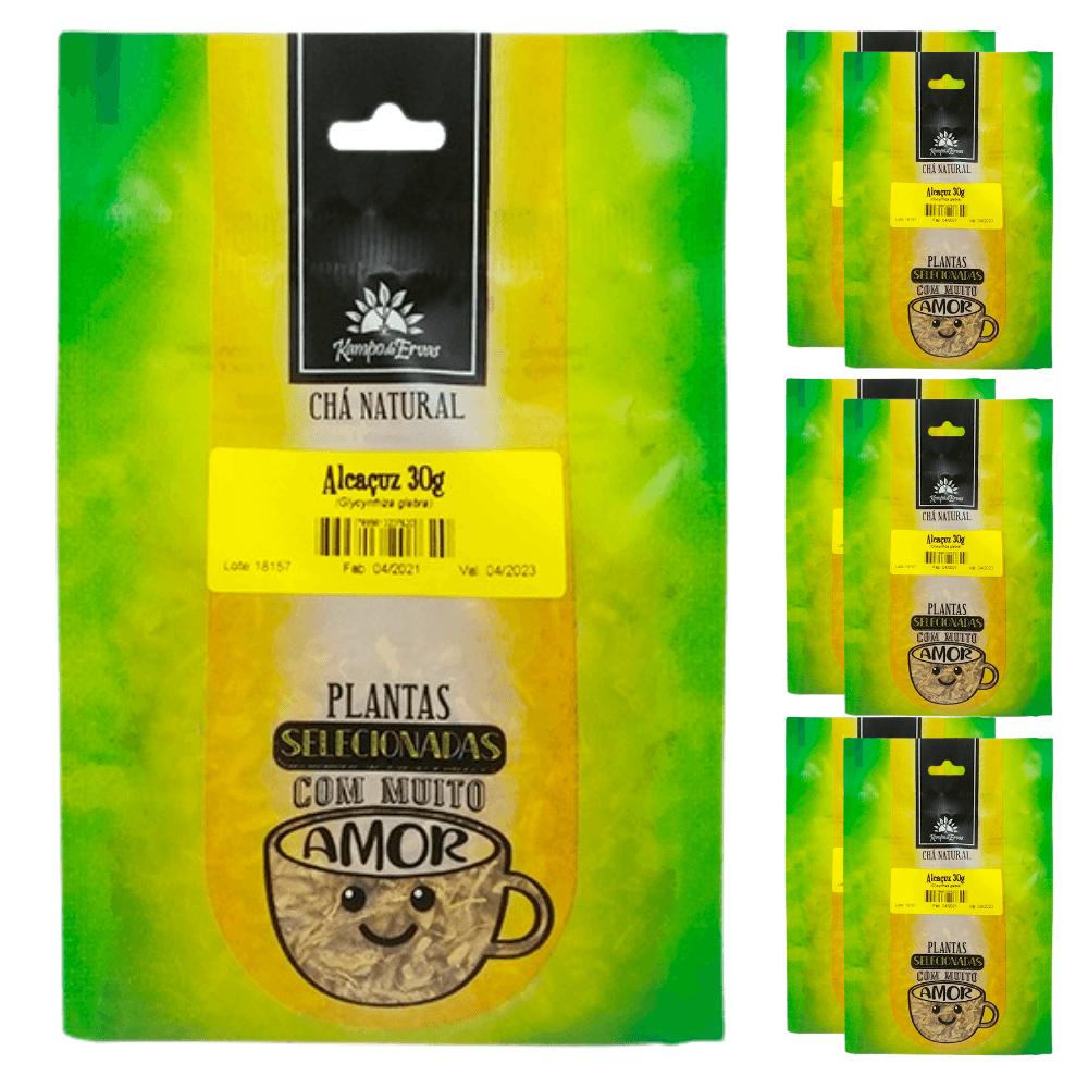 Alcaçuz Importado Chá da Raiz Kampo de Ervas 6 und  30g cada