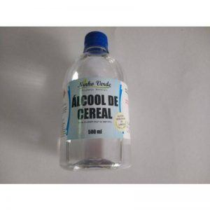 Álcool de Cereal - 500mg - Ninho Verde