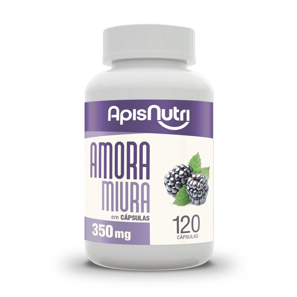 Amora Miura 120 Caps 350Mg - Apisnutri