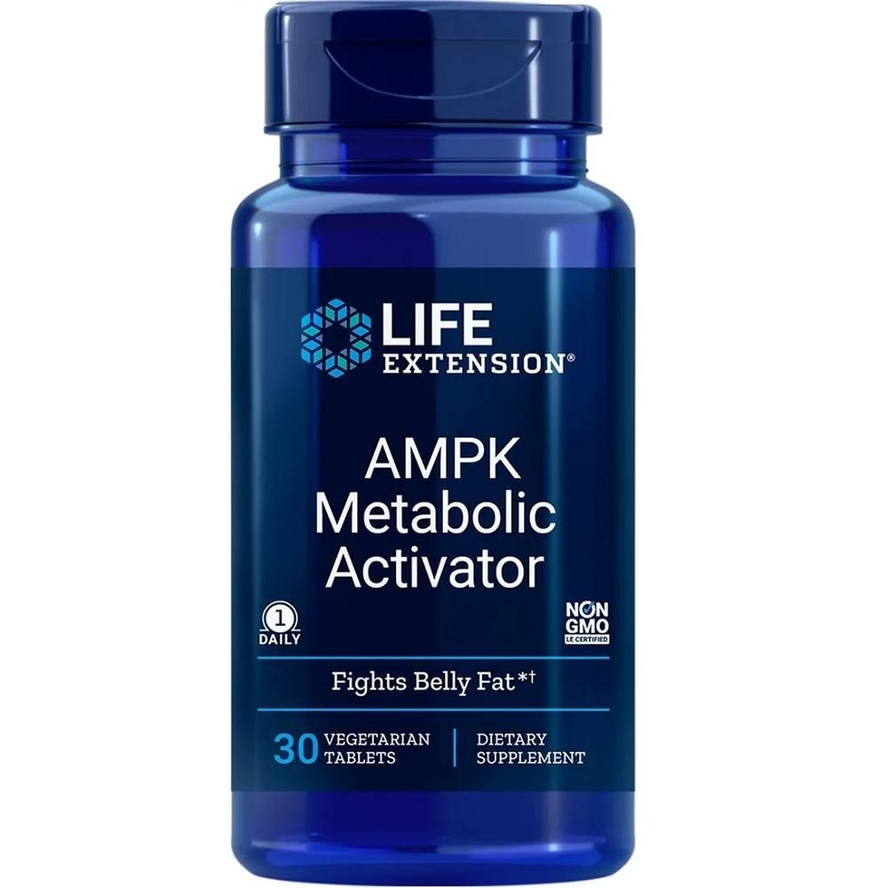 AMPK Metabolic  Activdor 30 Tabletes Life Extension