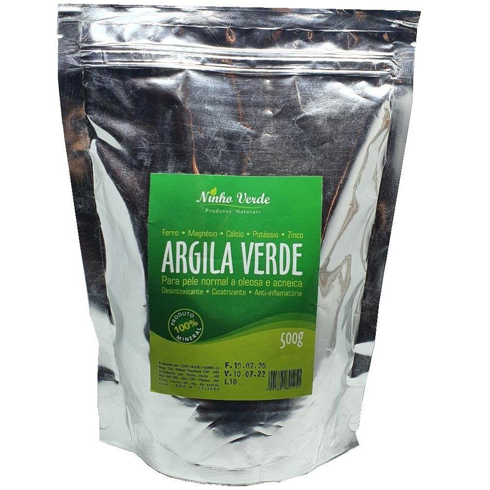 Argila Verde Ninho Verde 500 gr