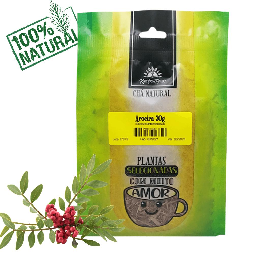 Aroeira Chá da Casca Pura Kampo de Ervas 30g