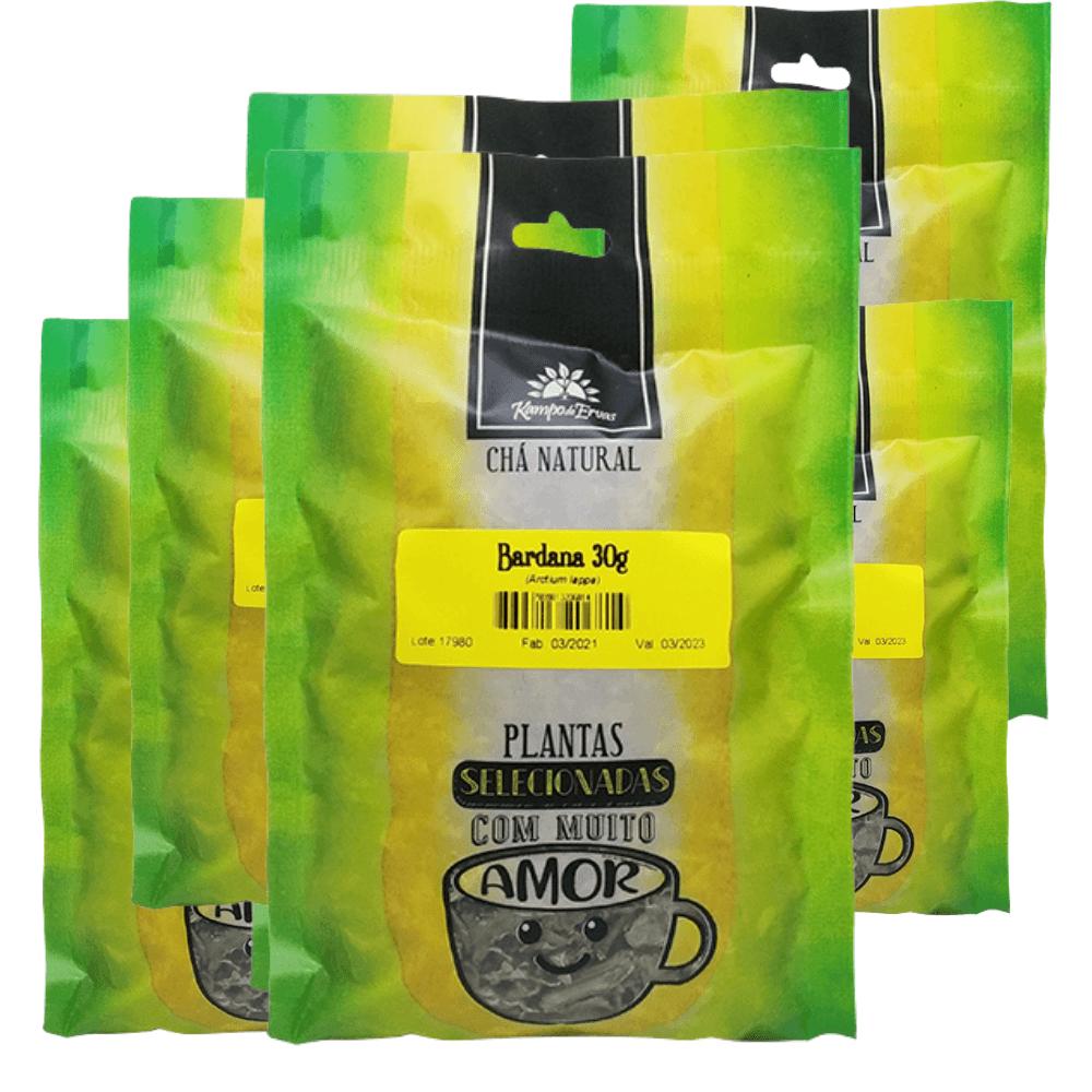 Bardana Chá Puro 100% Folhas Kampo de Ervas 6 und 30 g cada