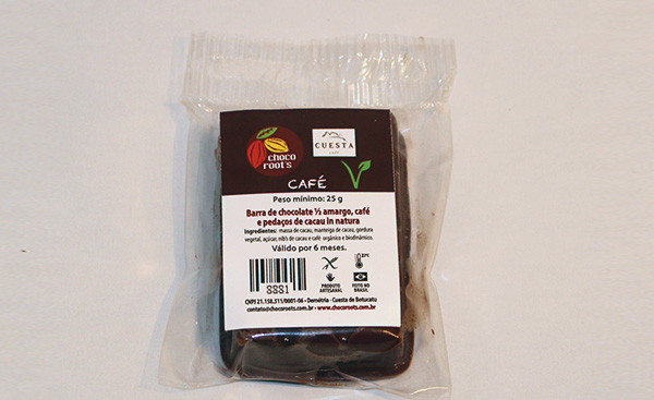 Barrinha Chocolate e Café - 25gr